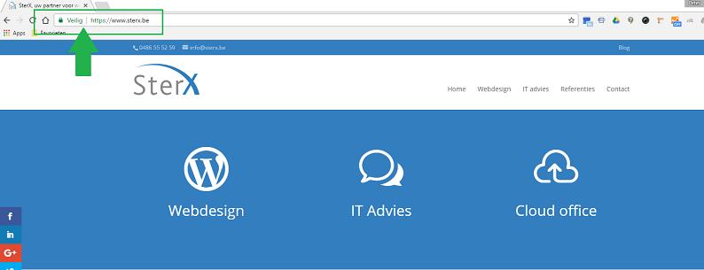 Google verkiest een SSL certificaat voor je website